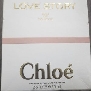 CHLOE — LOVE ❤️ STORY BRAND NEW NEVER USED